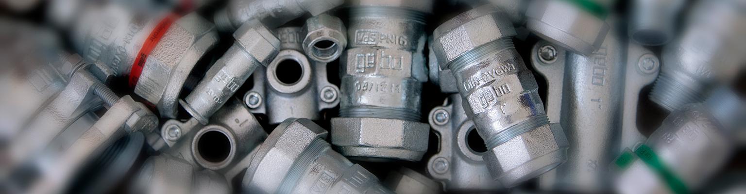 Gebo Original for steel pipes series 150 + 220